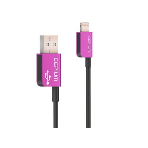 Cepium Apple Lisanslı Lightning Kablo Pembe - TR-54_P