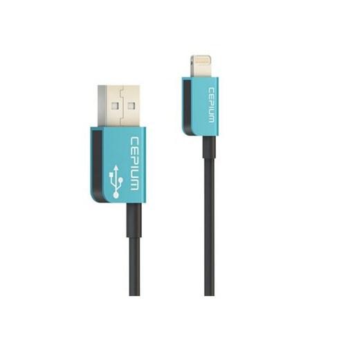 Cepium Apple Lisanslı Lightning Kablo Turkuaz - TR-54_T