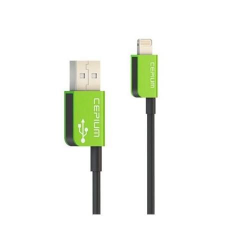 Cepium Apple Lisanslı Lightning Kablo Yeşil - TR-54_Y