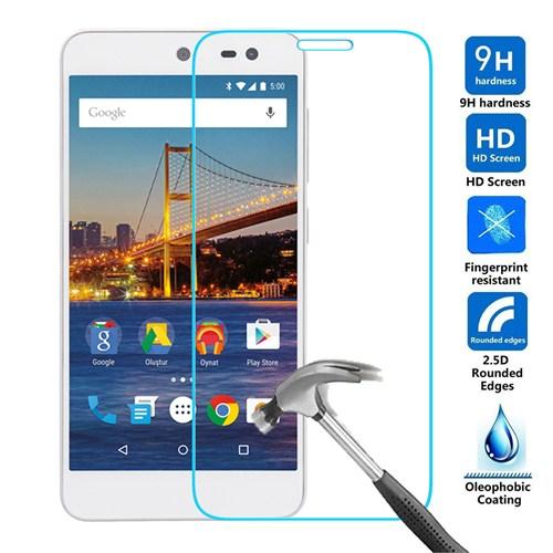 Case 4U General Mobile 4G Android One Kırılmaz Cam Ekran Koruyucu