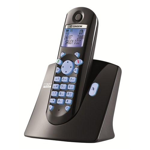 Sagem D 32 T Dect Telefon - Siyah