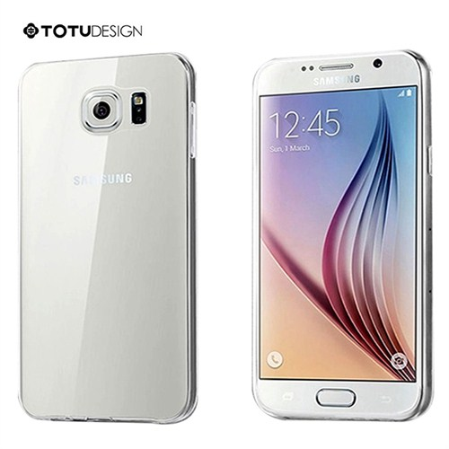 Totu Design Samsung Galaxy S6 Edge Soft Şeffaf Kılıf