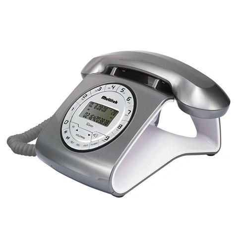 Multitek RETRO CID Masa Telefonu - Gri