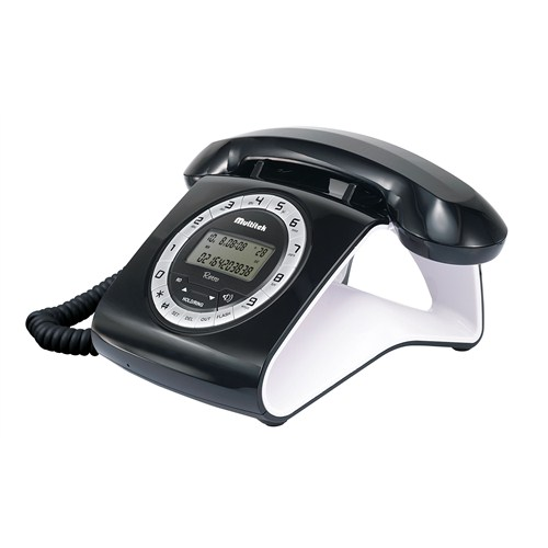 Multitek RETRO CID Masa Telefonu - Siyah