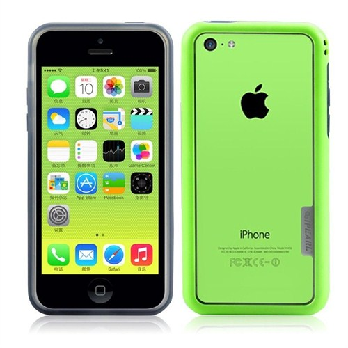 iPearl Apple iPhone 5C Kılıf - Yeşil Ice-Splendor Frame