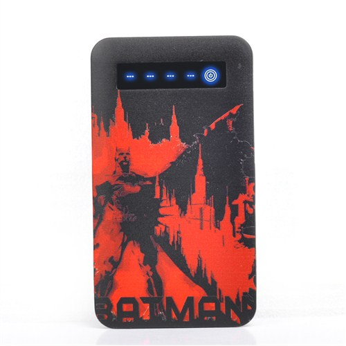 Thrumm Lisanslı Power Bank Batman Red City Slim 4000Mah