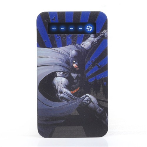 Thrumm Lisanslı Power Bank Batman Blue Side 4000Mah