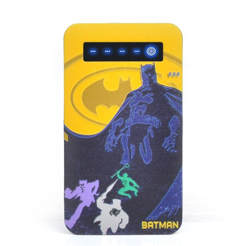Thrumm Lisanslı Power Bank Batman Yellow Sky 4000Mah