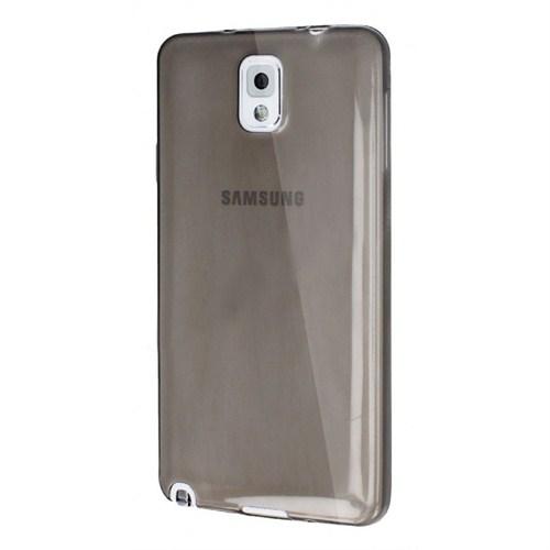 Mycolors Samsung Galaxy Note 4 Siyah İnce Silikon Arka Kapak - MYC-0080