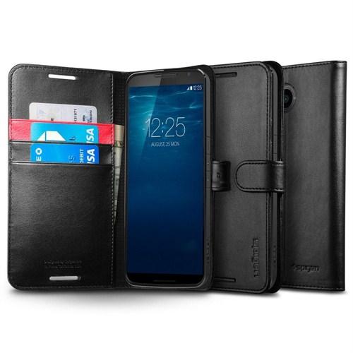 Spigen Sgp HTC M9 Kılıf Wallet S (Cuzdan) Siyah - SGP11392