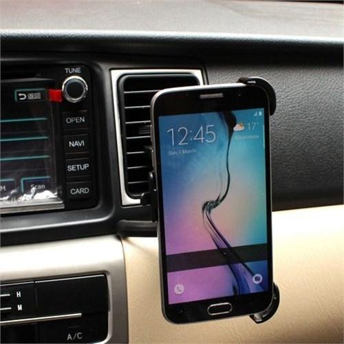 Markacase Samsung Galaxy S6 Edge Araç İçi Havalandırma Kalorifer Tutucu
