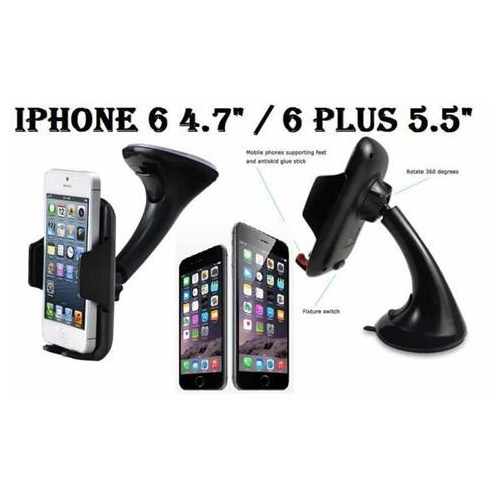 Markacase İphone 6 Ve 6 Plus Vehicle Kaliteli Araç İçi Tutucu