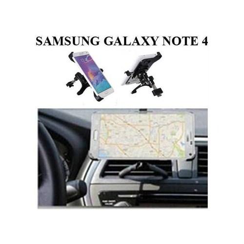 Markacase Samsung Galaxy Note 4 Araç İçi Havalandırma Kalorifer Tutucu