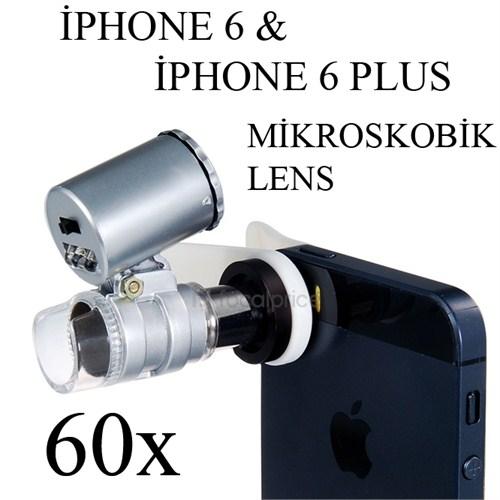 Markacase İphone 6 Ve 6 Plus 60X Mikroskobik Büyüteç Lens