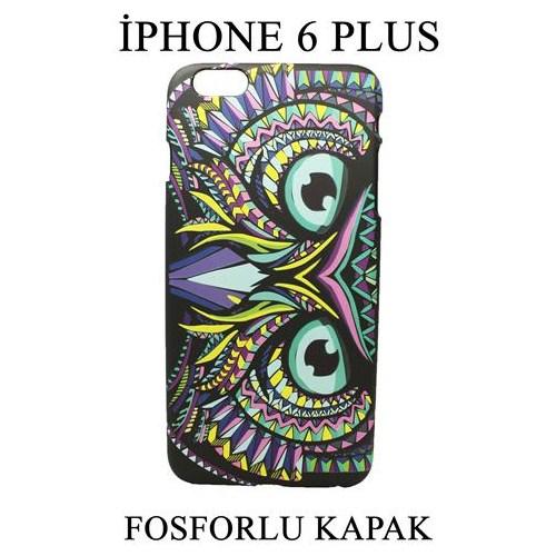Markacase Apple İphone 6 Plus 5,5'' Fosforlu Arka Kılıf