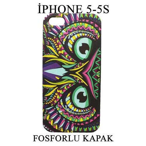 Markacase Apple İphone 5-5S Fosforlu Arka Kılıf