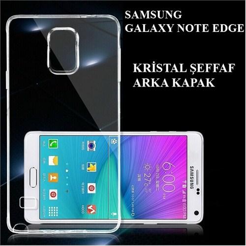 Markacase Galaxy Note Edge Transparan Kılıf Şeffaf Sert Kapak