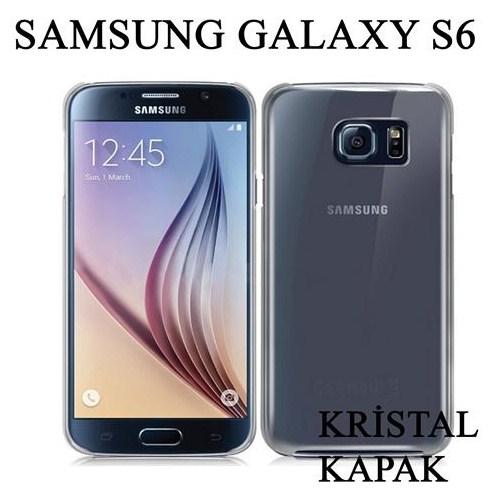 Markacase Samsung Galaxy S6 Kılıf Kristal Tasarım Kapak