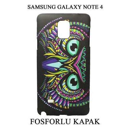 Markacase Samsung Galaxy Note 4 Fosforlu Arka Kılıf