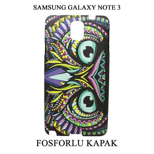Markacase Samsung Galaxy Note 3 Fosforlu Arka Kılıf