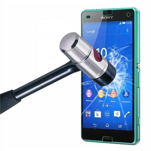 Markacase Sony Xperıa Z3 Compact Tempered Kırılmaz Cam 0,26 Mm
