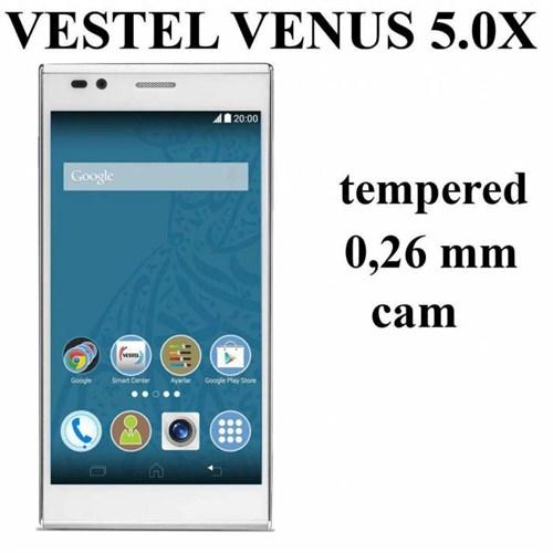 Markacase Vestel Venus 5.0X Tempered Kırılmaz Cam 0,26 Mm