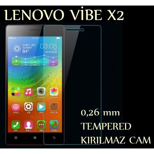 Markacase Lenovo Vıbe X2 Tempered Kırılmaz Cam Ekran Koruyucu