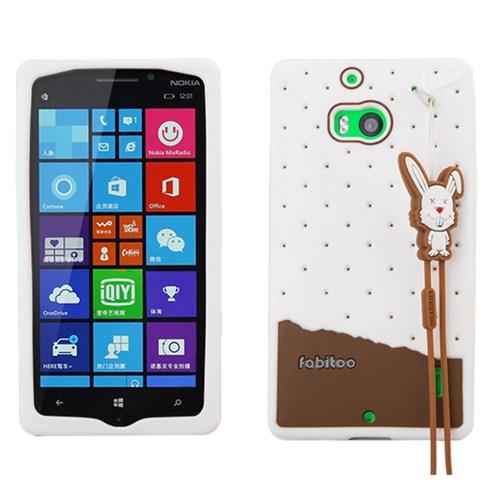 Fabitoo Nokia Lumia 930 Candy Kılıf Beyaz