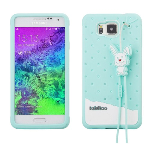 Fabitoo Samsung Galaxy Alpha Candy Kılıf Turkuaz