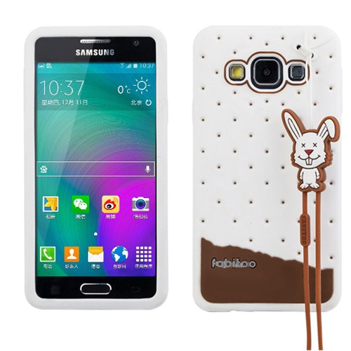 Fabitoo Samsung Galaxy A3 Candy Kılıf Beyaz