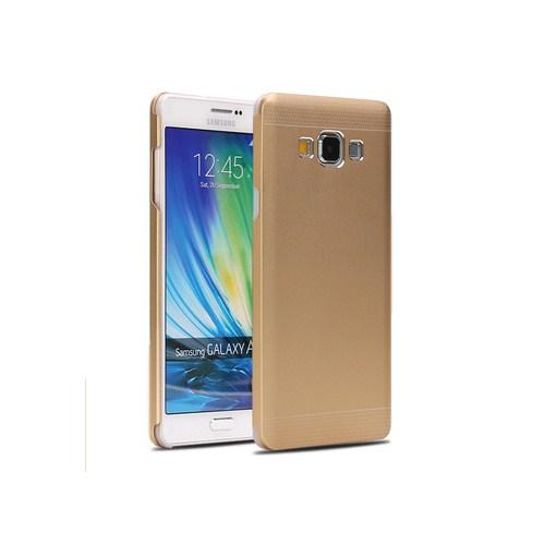 Microsonic Samsung Galaxy A3 Dual Katmanlı Combo Metal Kılıf Gold