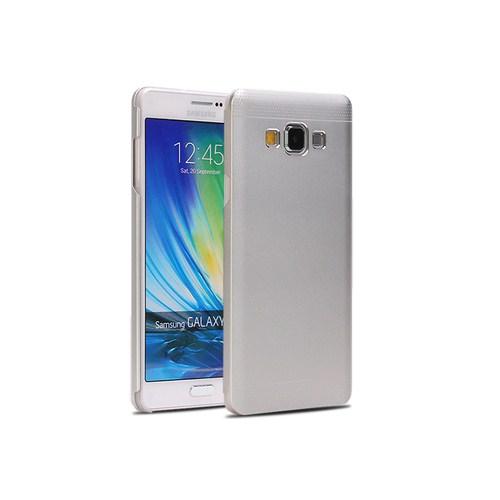 Microsonic Samsung Galaxy A3 Dual Katmanlı Combo Metal Kılıf Gümüş