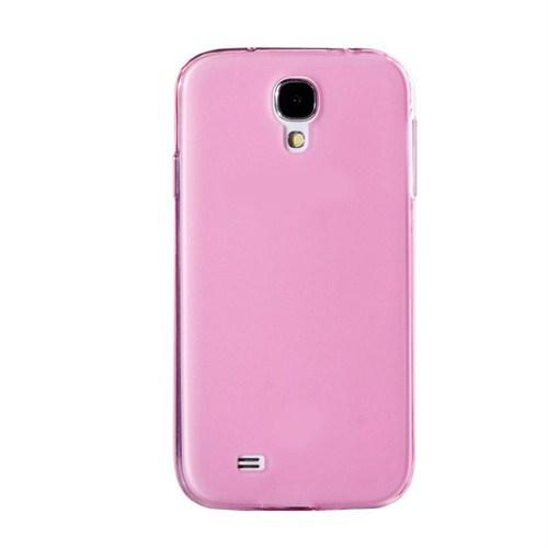 Mycolors Samsung Galaxy S4 Pembe İnce Silikon Arka Kapak - MYC-0205
