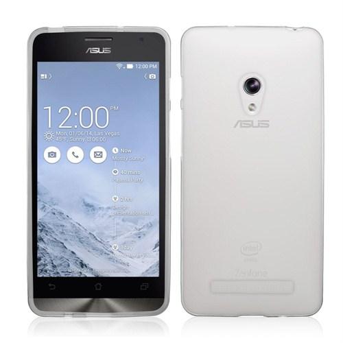 Mycolors Asus Zenfone 5 Şeffaf İnce Silikon Arka Kapak - MYC-0230