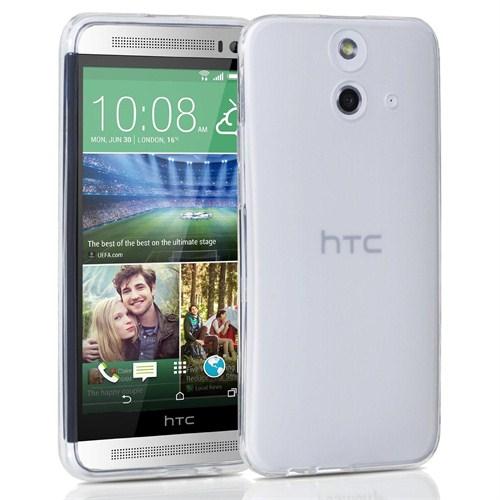Mycolors HTC One M8 Şeffaf İnce Silikon Arka Kapak - MYC-0236