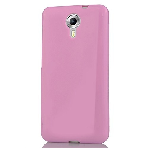 CoverZone General Mobile Android One 4G Silikon Kılıf Pembe