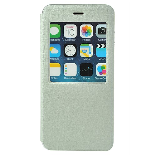 TSTM İphone 6 Tstm Kılıf Pencereli Beyaz
