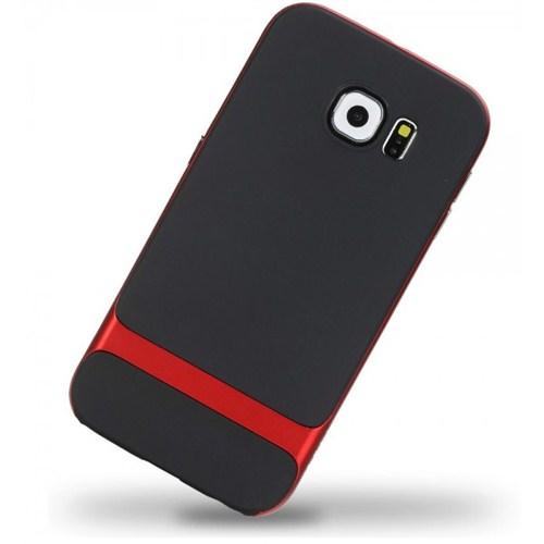 Rock Samsung Galaxy S6 Kılıf Orijinal Rock Case Kırmızı