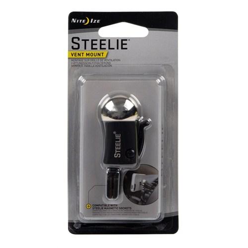 Nite Ize Steelie Klipsli Çelik Başlı Top / Vent Mount Araç İçi Tutucu - STVM-11-R7