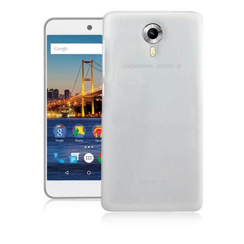 Case 4U General Mobile 4G Android One 0.2 mm Ultra İnce Silikon Kılıf Şeffaf