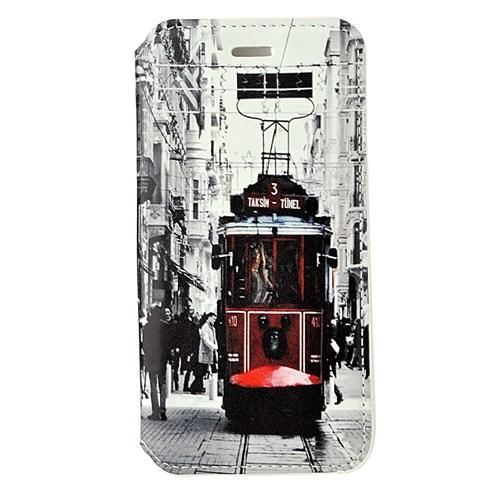 CoverZone İphone 6 Plus Kılıf Taksim Tramvay