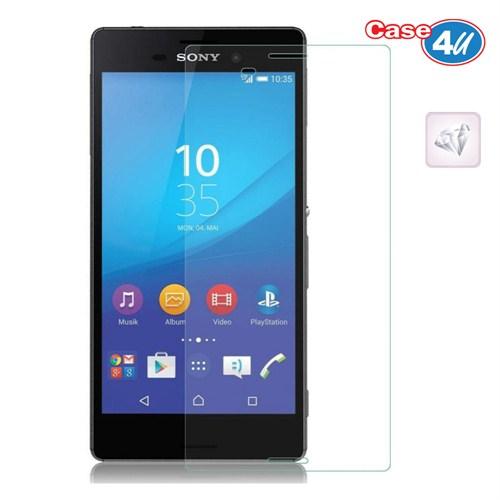 Case 4U Sony Xperia M4 Aqua Ultra Şeffaf Ekran Koruyucu