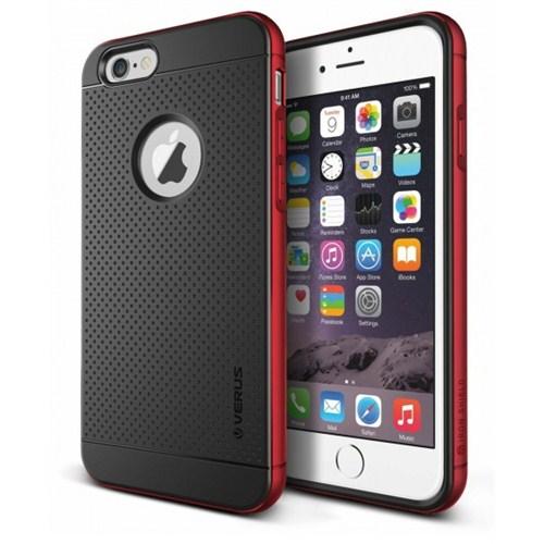 VERUS İphone 6 Kılıf Verus Case Iron Shield Series Kırmızı
