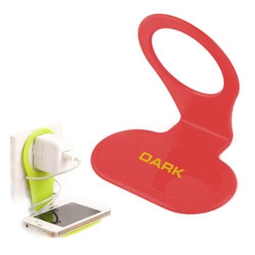 Dark Priz / Adaptör / Telefon Tutucu Askı (Kırmızı) (DK-AC-CPGR02RD)