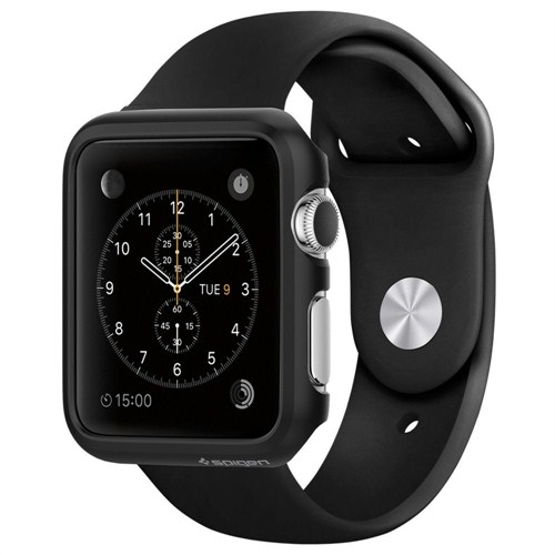 Spigen Sgp Apple Watch Kılıf Thin Fit (38Mm) Black - SGP11487