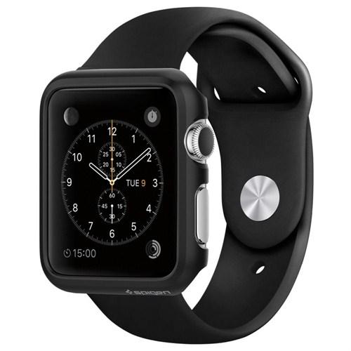 Spigen Sgp Apple Watch Kılıf Thin Fit (38Mm) Black - SGP11487