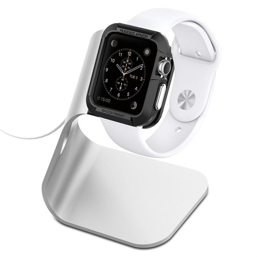 Spigen Sgp Apple Watch Sarj Standı S330 (Alüminyum) - SGP11555
