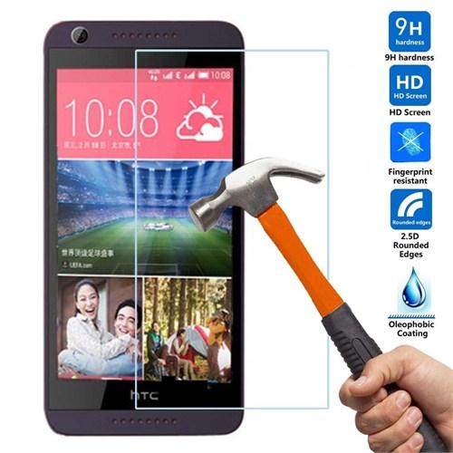 Case 4U HTC Desire 626 Dual Sim Kırılmaz Cam Ekran Koruyucu