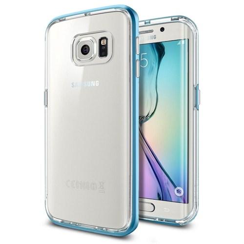 Spigen Samsung Galaxy S6 Edge Kılıf Neo Hybrid CC Electric Blue - 11527