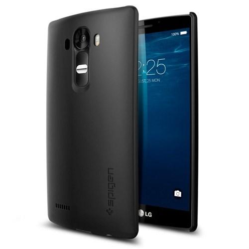 Spigen LG G4 Kılıf Thin Fit Smooth Black - 11513